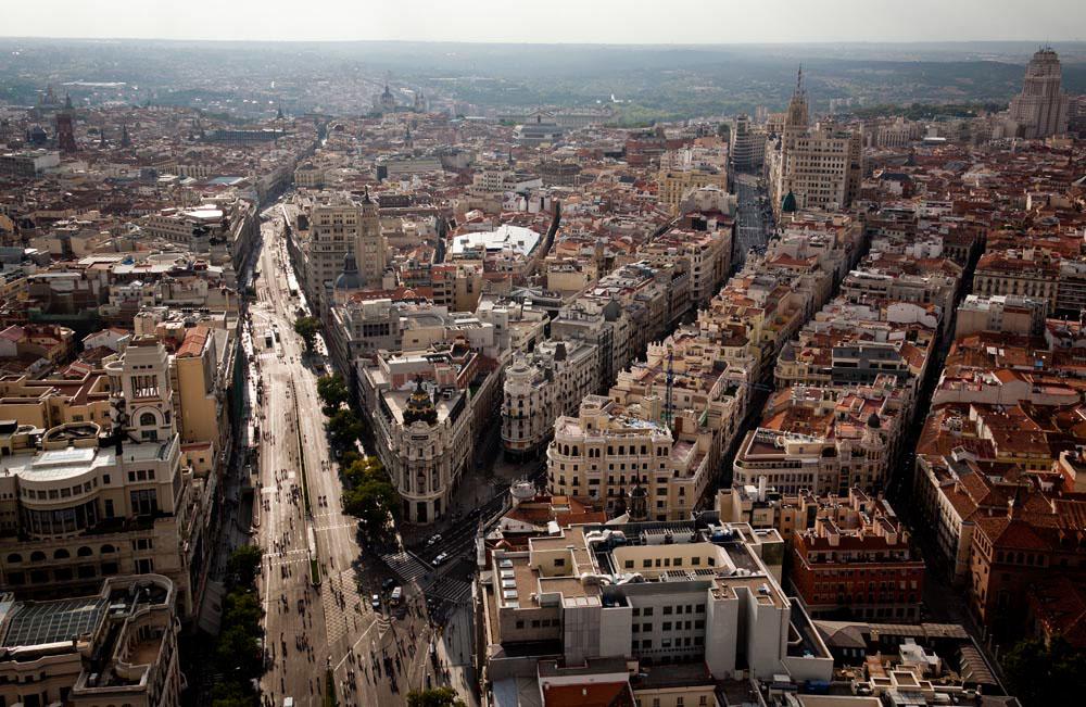 Madrid desde las alturas, por Emilio Naranjo.