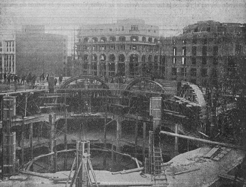Construcción del Edificio, Madrid