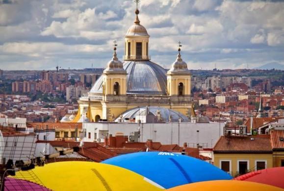 La postal de la semana: Madrid a todo color
