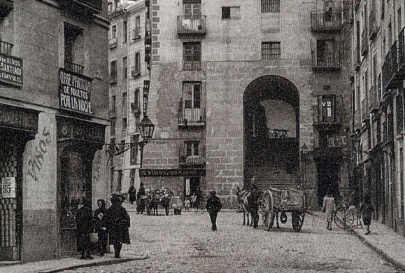 Fotos antiguas: El Arco de Cuchilleros