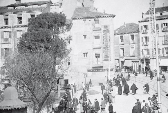 Fotos antiguas: La Plaza de Santo Domingo