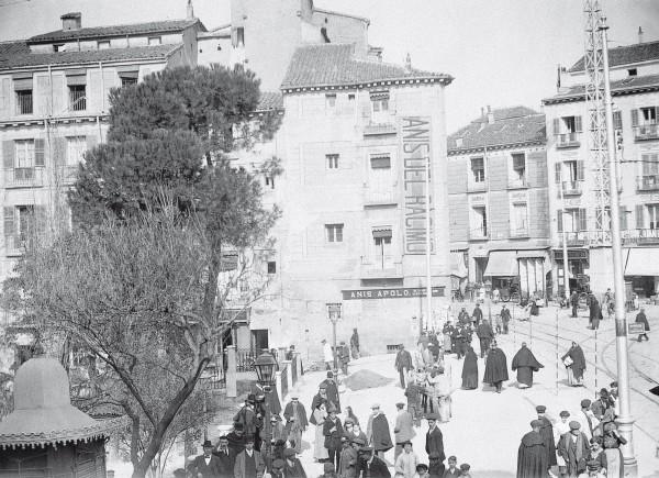 Plaza de Santo Domingo 1913, Madrid