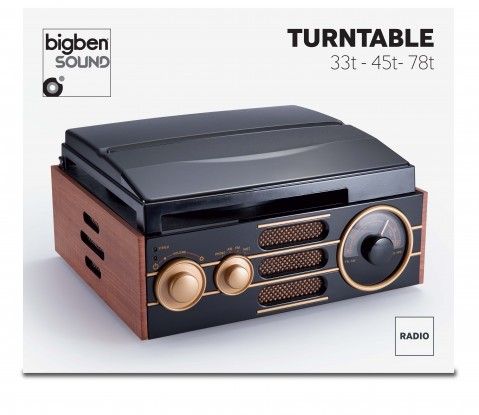 Tocadiscos BigBen Interactive