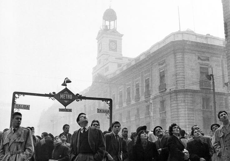 Esperando al Gordo, Catalá Roca. Madrid