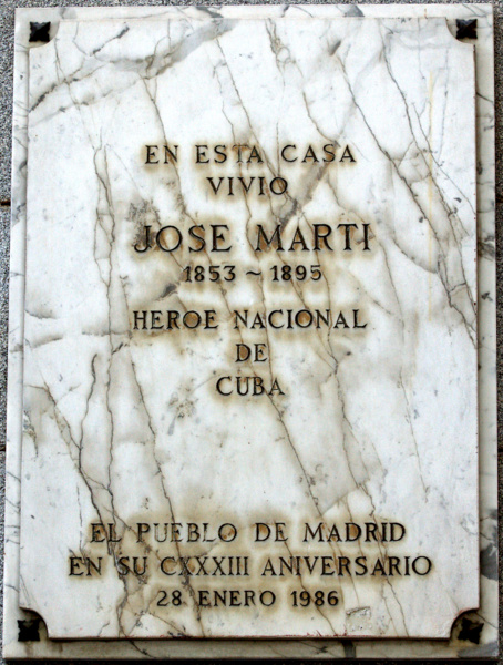 Plaza homenaje a José Martí (Foto de Pedro Reina)