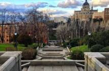Madrid desde la Cuesta de los Ciegos