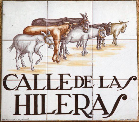 Calle de las Hileras, Madrid
