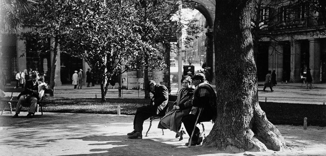 Plaza Mayor 1941, Madrid