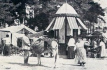 Plaza de Lavapiés 1917, Madrid