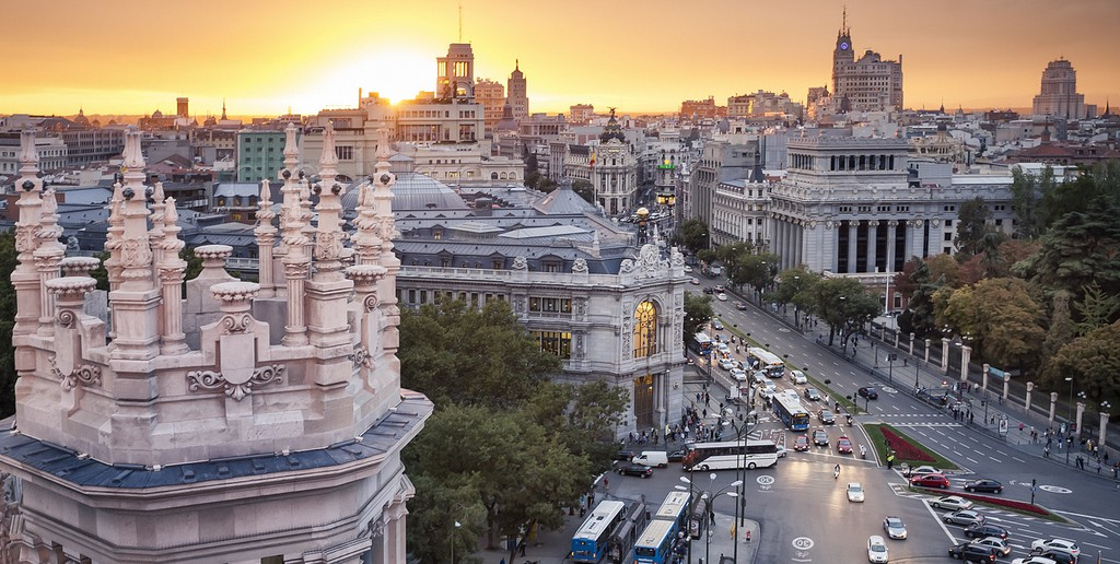 La postal de la semana el atardecer dorado for Codigo postal del barrio de salamanca en madrid