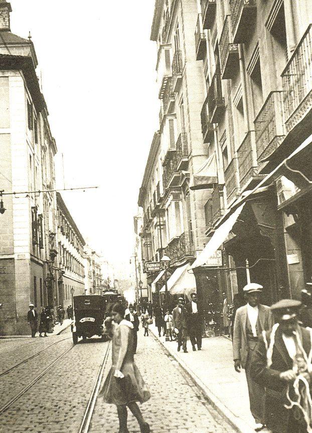 Calle Hortaleza antigua
