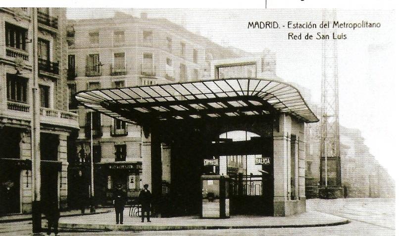 Metro-de-Madrid-Estacion-de-la-Red-de-San-Luis-año-1920-fondo-APG