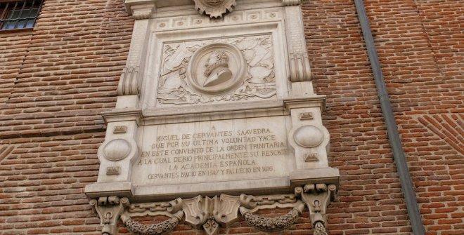 Tumba de Cervantes, Madrid
