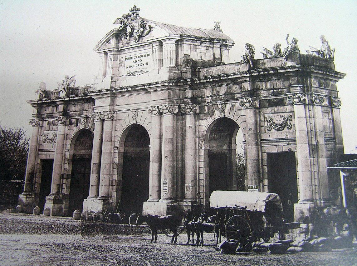 Puerta de Alcalá 1905