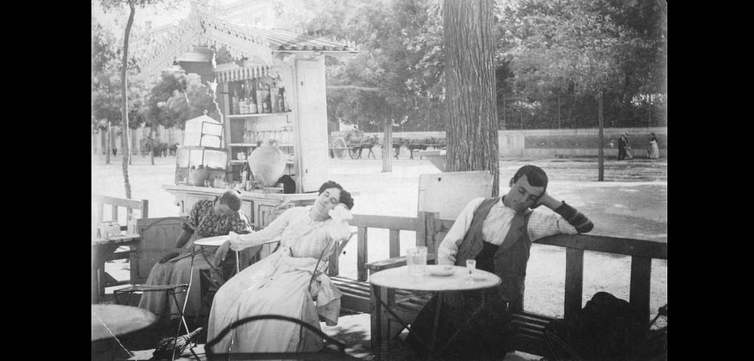 Pradera de San Isidro, en 1900.