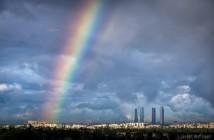 Arcoíris en Madrid