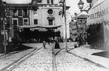 Plaza de la Cebada 1890, Madrid