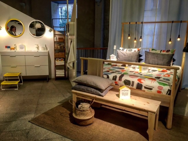 Exposición IKEA en Madrid