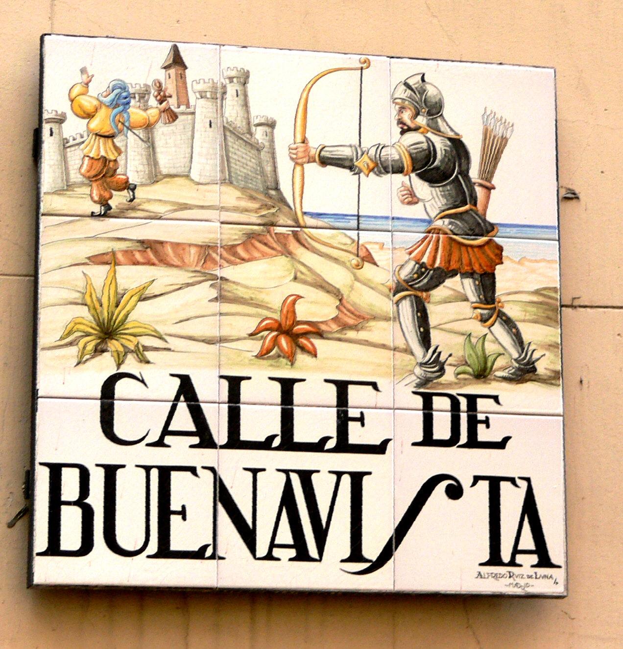 La Calle Buenavista, Madrid