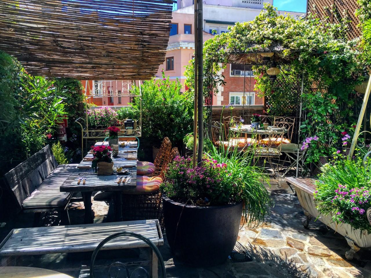 El Jardín Secreto de Salvador Bachiller, azoteas en las terrazas de Madrid