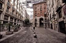 Arco de Cuchilleros. Madrid