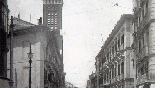 Fotos antiguas: La Calle Atocha en 1906