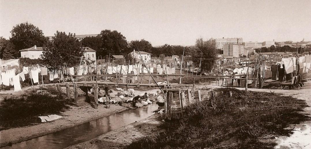 Lavanderas en el Manzanares, Madrid