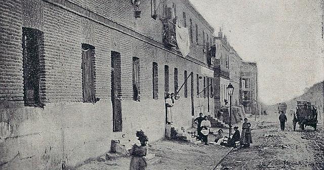 Fotos antiguas: Un Chamberí triste