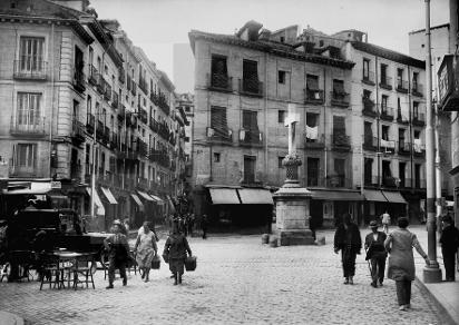 Plaza de la Puerta Cerrada, 1934