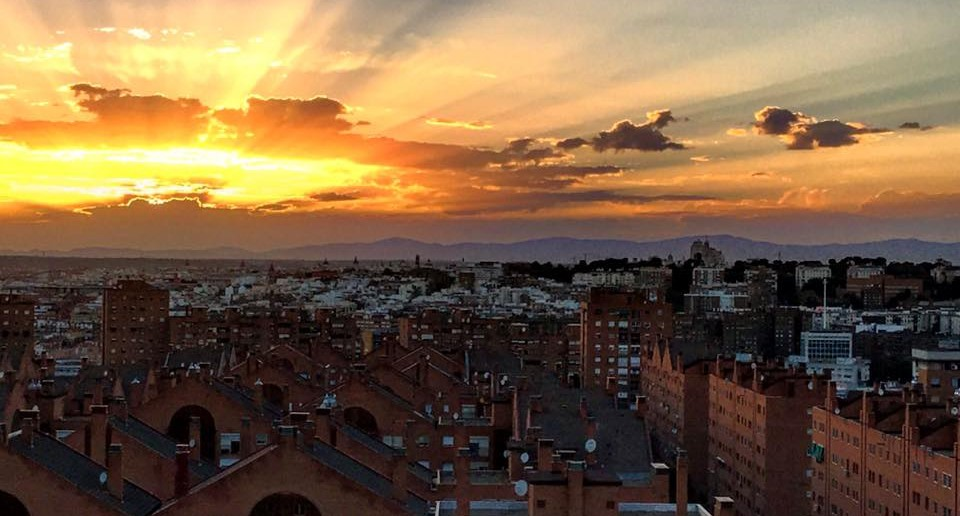 Atardecer Madrid