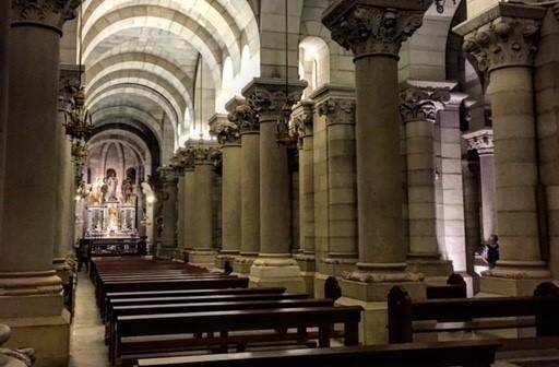 La cripta de la Almudena, un lugar mágico