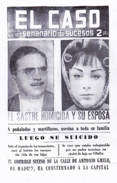 Crimen Antonio Grilo, Madrid