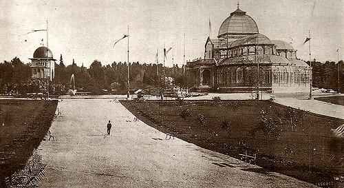 Parque del Retiro, 1908. Madrid