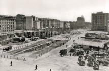 Obras en Gran Vía, Madrid