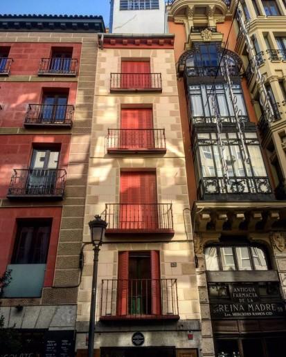 Casa más pequeña de Madrid
