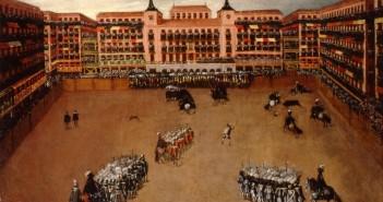 Plaza Mayor, Maidrid, festejos