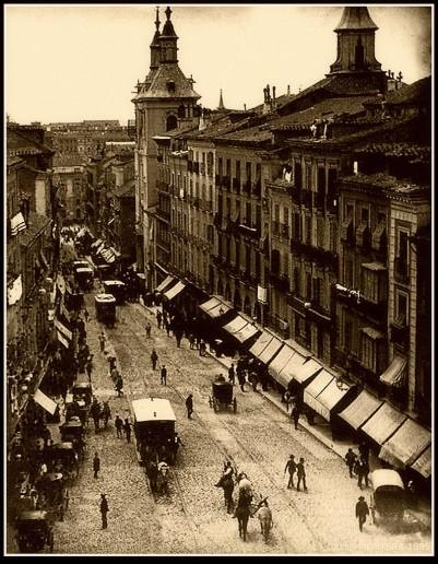 Calle Montera , Madrid