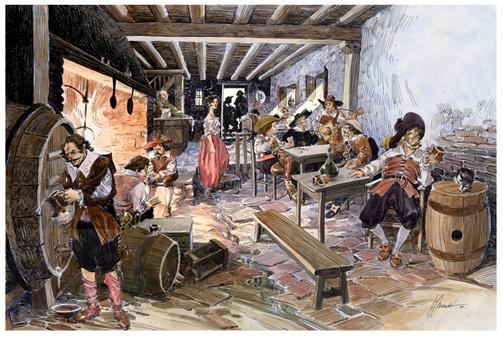 Taberna Madrid, siglo XVII