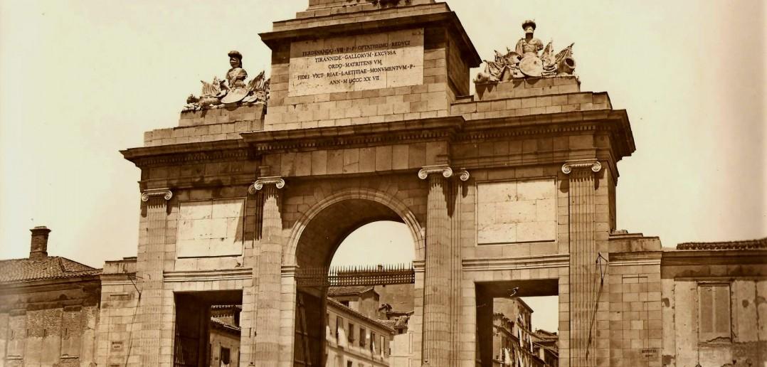 La Puerta de Toledo en 1865
