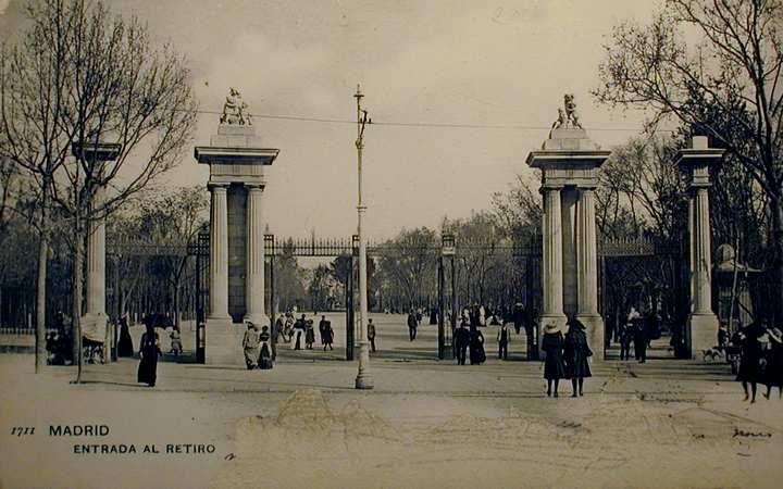Parque del Retiro, Madrid,