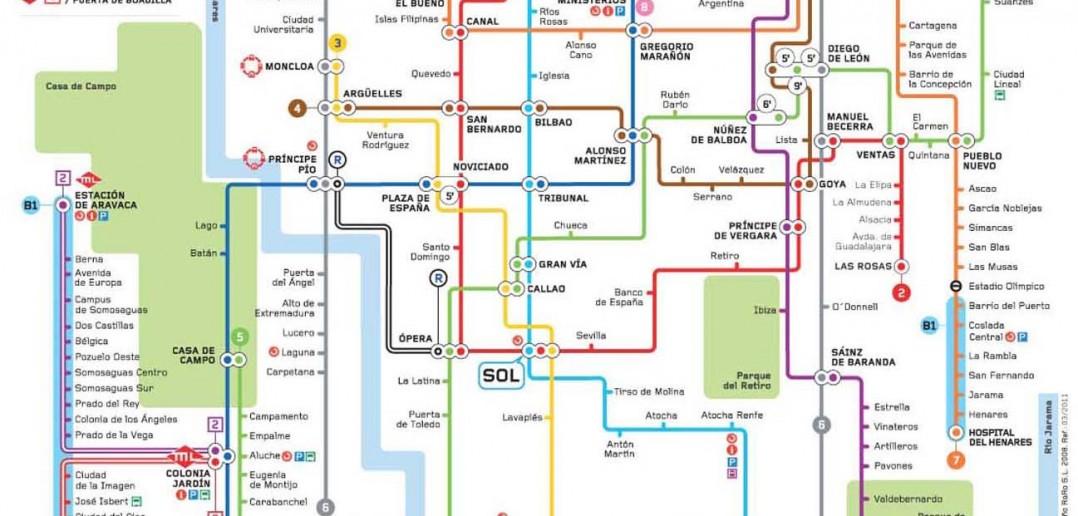 Cuntas estaciones de Metro hay en Madrid  Secretos de Madrid