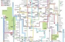 Mapa de Metro, Madrid