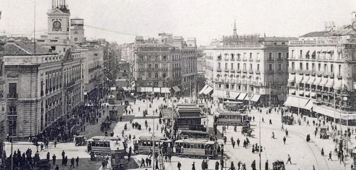 ¿Cuántas calles nacen en la Puerta del Sol?