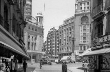 Plaza de Callao, 1947. Madrid