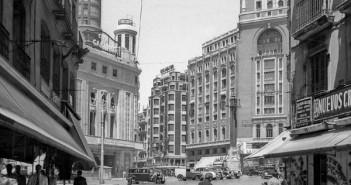 Plaza de Callao, 1947. Madrid