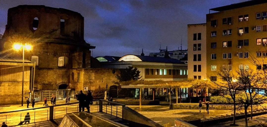 Plaza de Agustín Lara, Lavapiés, Madrid