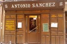 Vino Taberna Antonio Sánchez, Madrid
