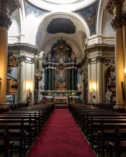 Fernando VI en la Iglesia de las Salesas Reales