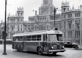 El trolebús, el transporte olvidado de Madrid