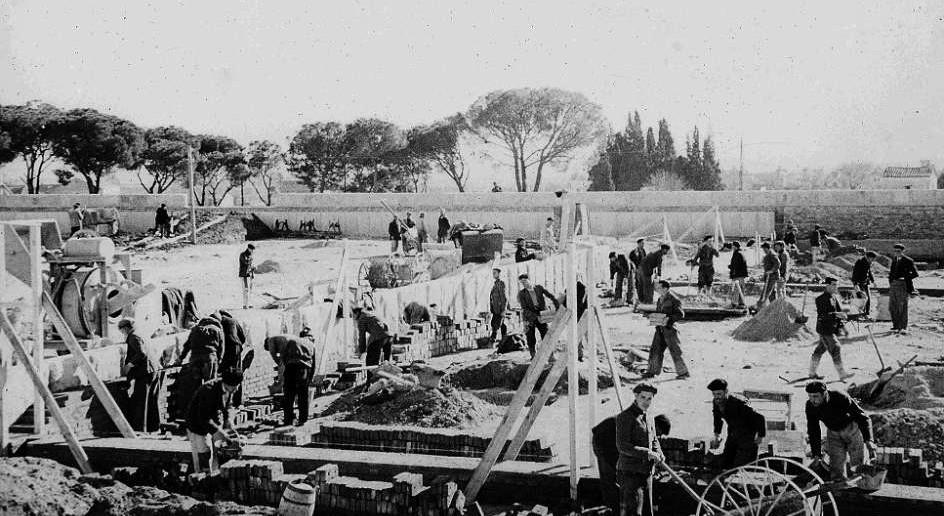 Prisión de Carabanchel, 1942.
